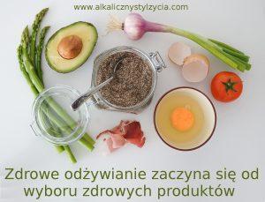 Zdrowe odzywianie to zdrowe produkty